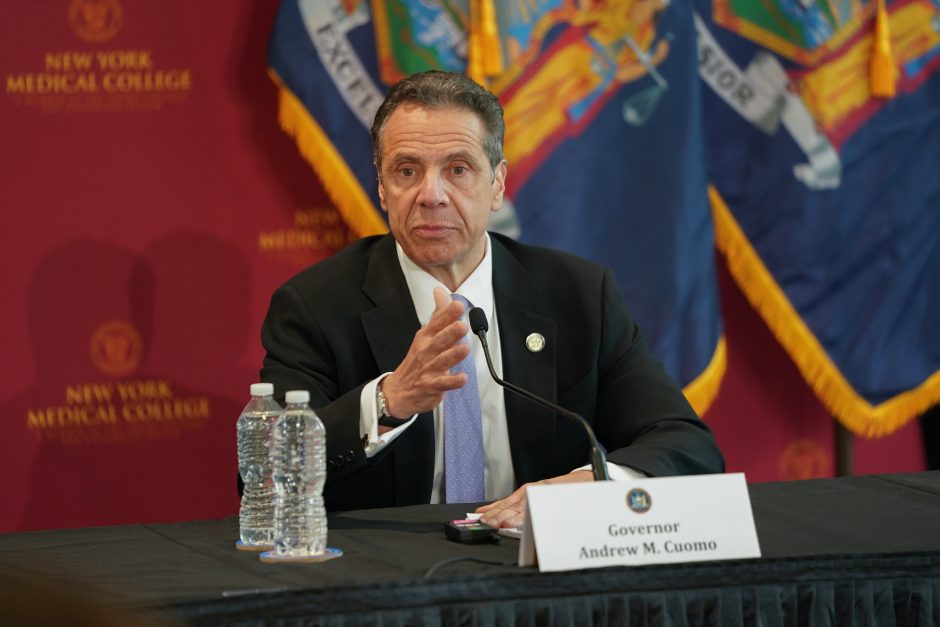 Governor Andrew Cuomo delivers his daily press briefing on COVID-19.