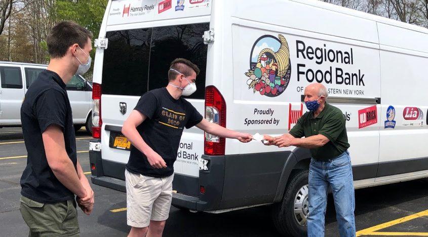 Duanesburgh High School seniors donate to Regional Food Bank