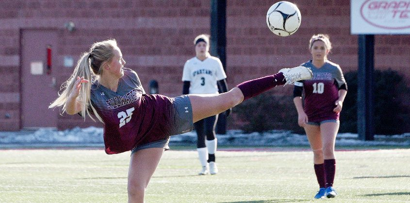 Stillwater girls' soccer star Keelyn Peacock will be playing college soccer at Arkansas University in 2021.