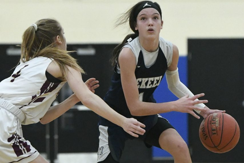 Mekeel eighth-grader Avery Mills has received basketball offers from Niagara and UAlbany.