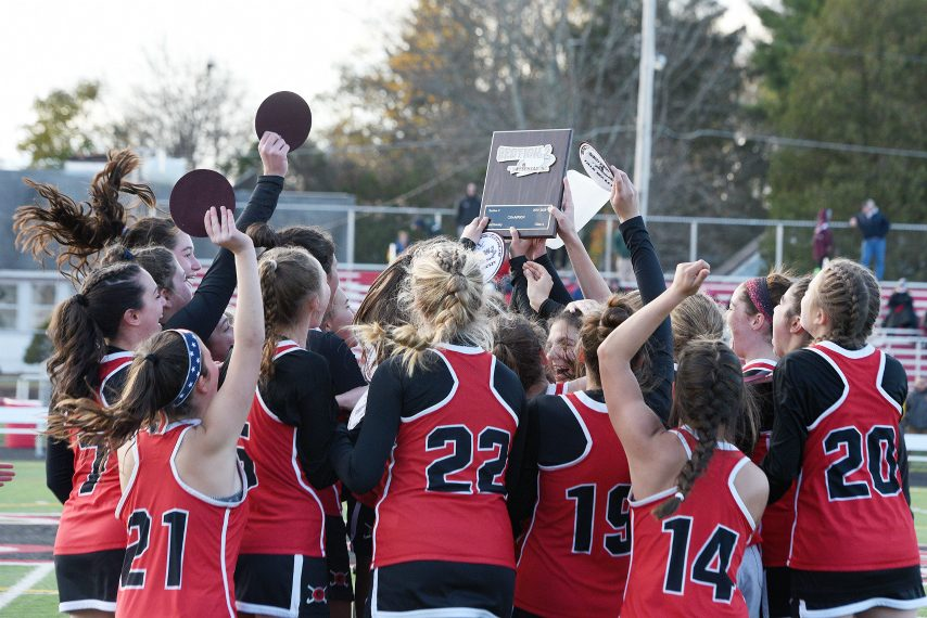 Guilderland won its first Section II field hockey championship last fall season.