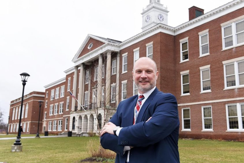 Schenectady City Schools Acting Superintendent Dr. Arron Bochniak in April
