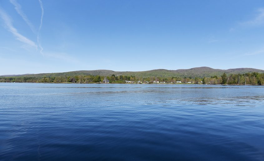 The Great Sacandaga Lake is seen from Mayfield on Thursday.