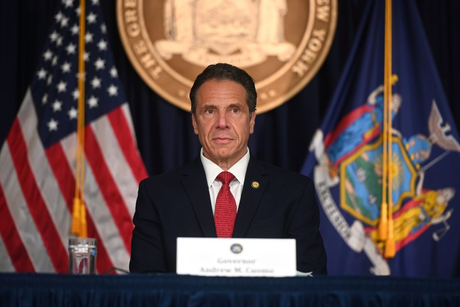 Governor Andrew Cuomo delivers his daily press briefing on COVID-19 Friday, May 22.