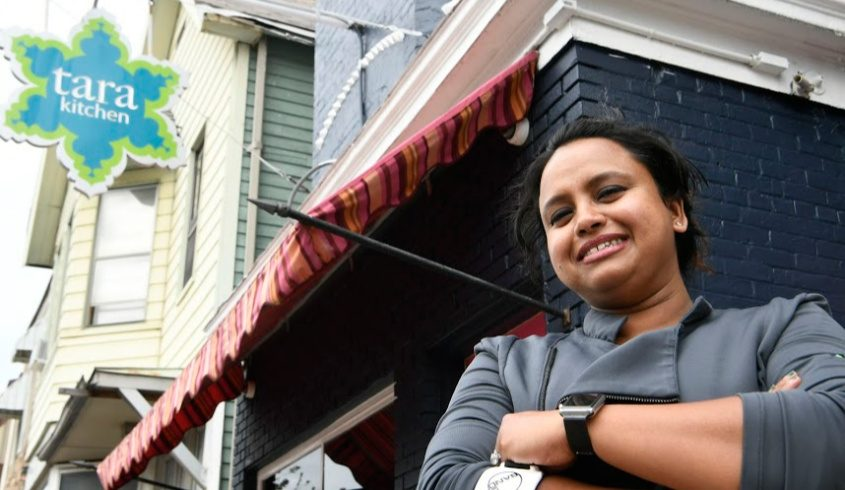 Aneesa Waheed of Tara Kitchen on Liberty Street believes customers will be comfortable with expanded outdoor dining.