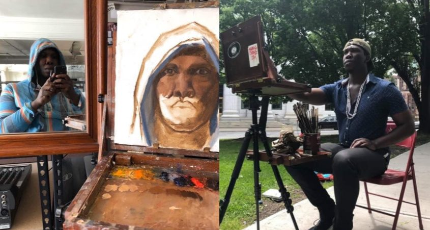 Colleagues are remembering Duane Todman, who was slain Saturday night, as a talented artist with a flair for the spiritual