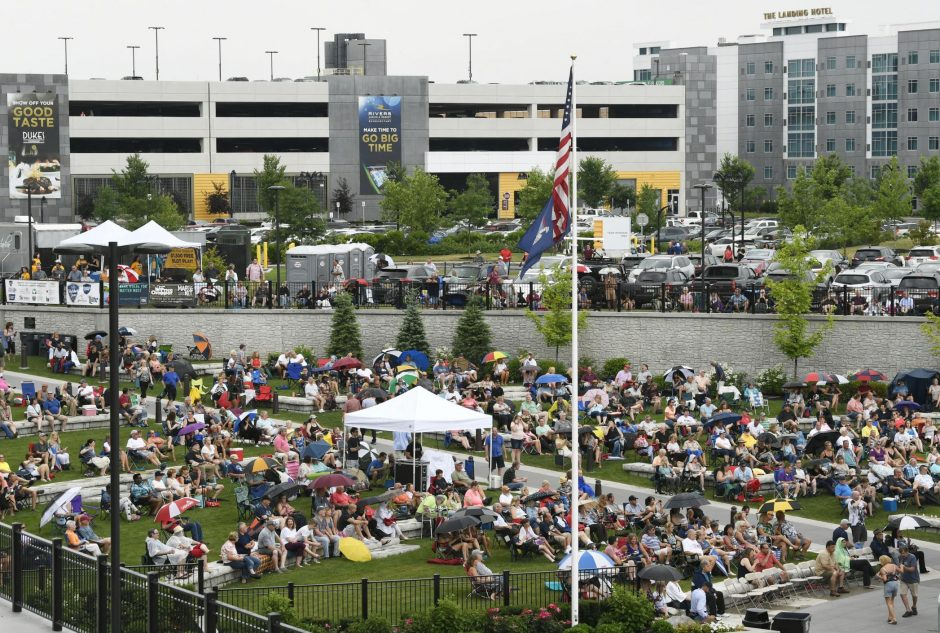 The 2019 Harbor Jam Free Summer Concert Series at the Amphitheatre Saturday, July 6, 2019.