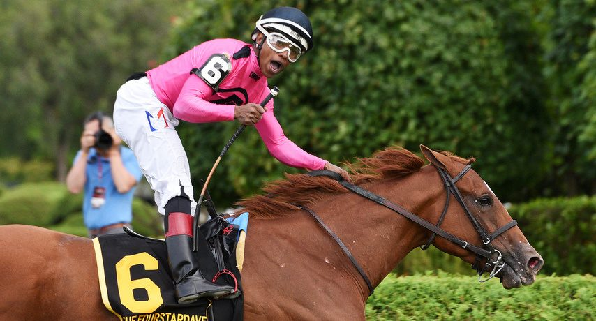 Got Stormy is entered in the Beaugay as racing in New York resumes at Belmont Park on Wednesday.