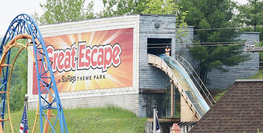 The Great Escape theme park in 2019