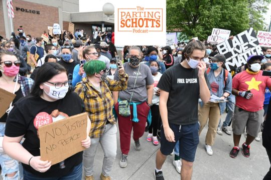 Gazette news reporter Pete DeMola and editor Miles Reed talk about the recent protests, as well as the COVID-19 pandemic.