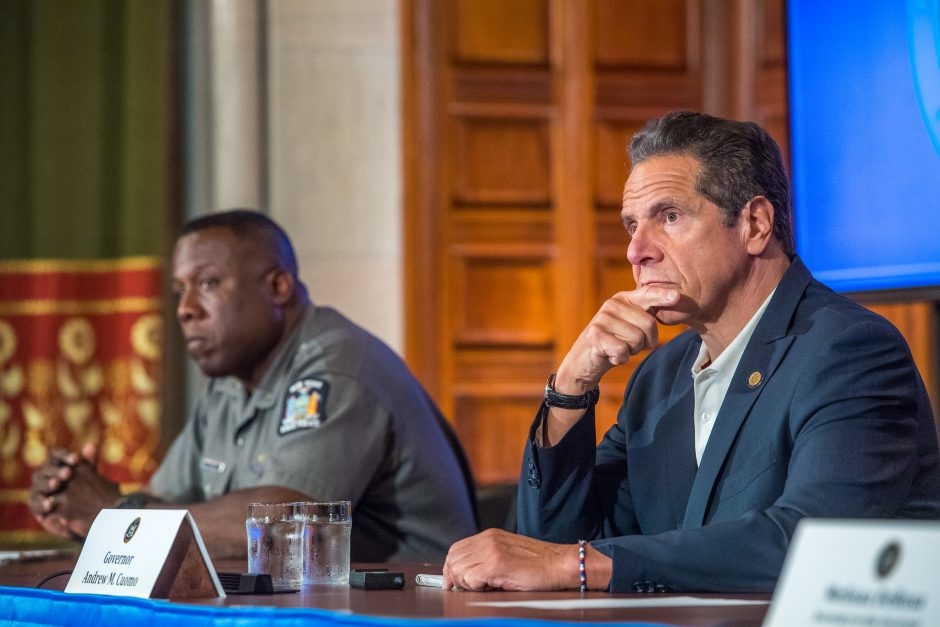 Governor Andrew Cuomo delivers daily Coronavirus update on June 6, 2020.