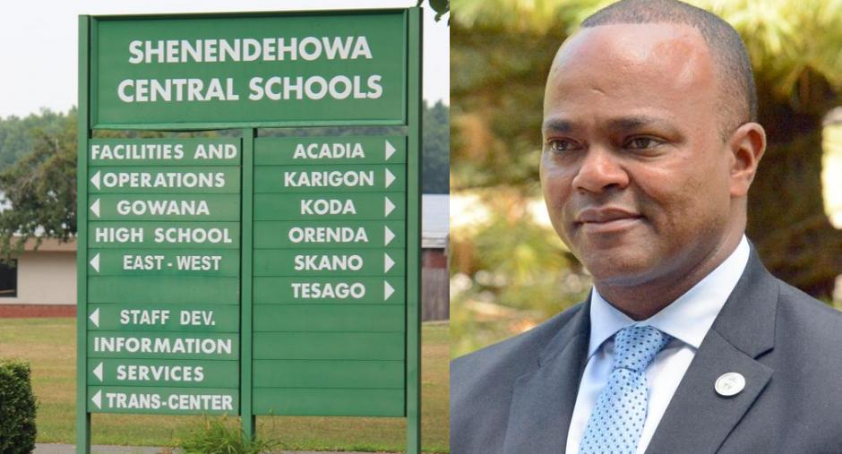 Oliver Robinson, superintendent, Shenendehowa Central School District
