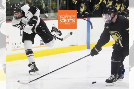 Union hockey's Jack Adams talks about a wide variety of subjects on 'The Parting Schotts Podcast.'