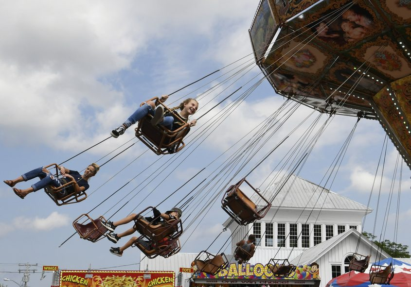 A scene from the 2019 Altamont Fair