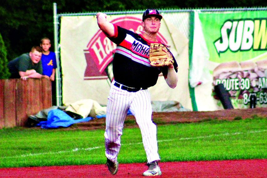 2018 Amsterdam Mohawk was selected 14th overall Wednesday in the MLB Draft.