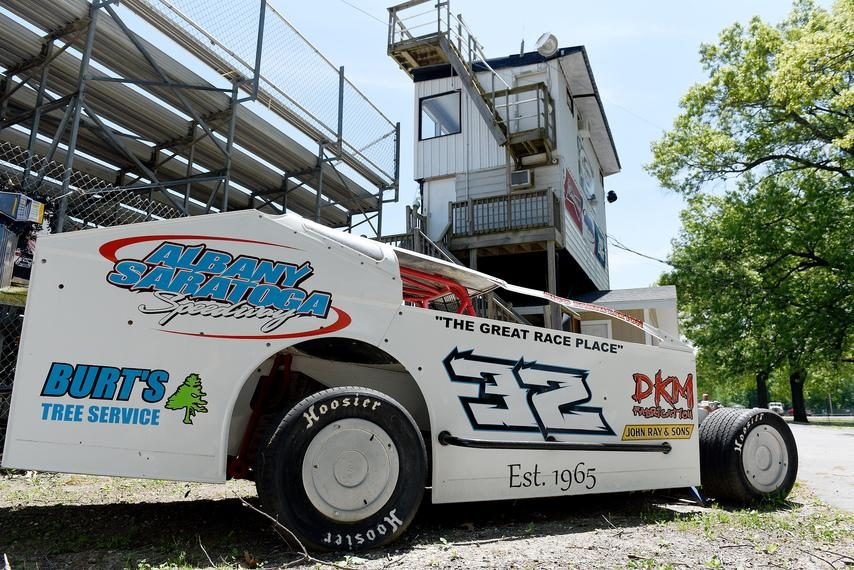 Albany-Saratoga Speedway held its opening night of racing for the season Friday.