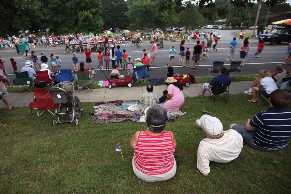 The Alplaus Fourth of July parade on Saturday, July 4, 2015.