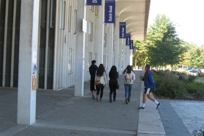 University at Albany campus.