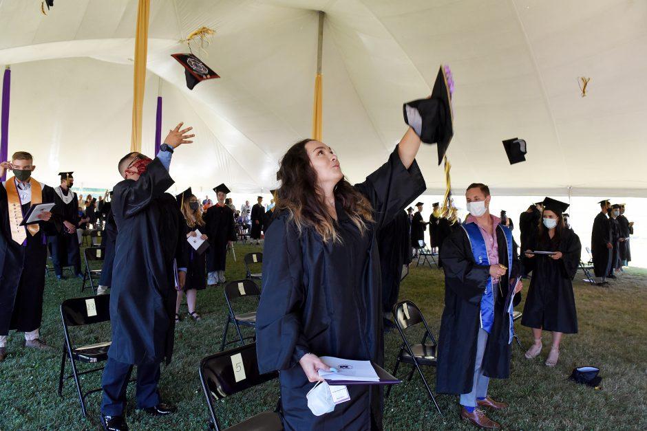 Duanesburg Class of 2020 graduates on June 26, 2020.