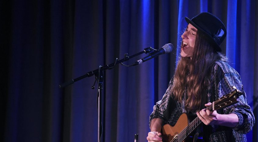Sawyer Fredericks performs at Caffe Lena in this file photo.