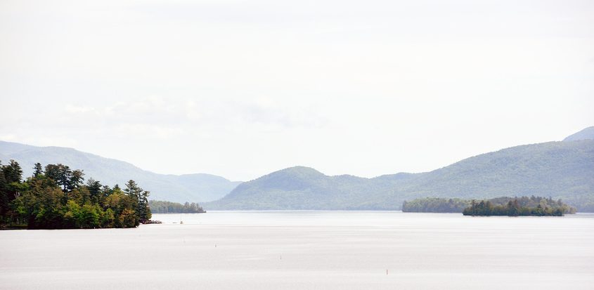 Lake George in 2019