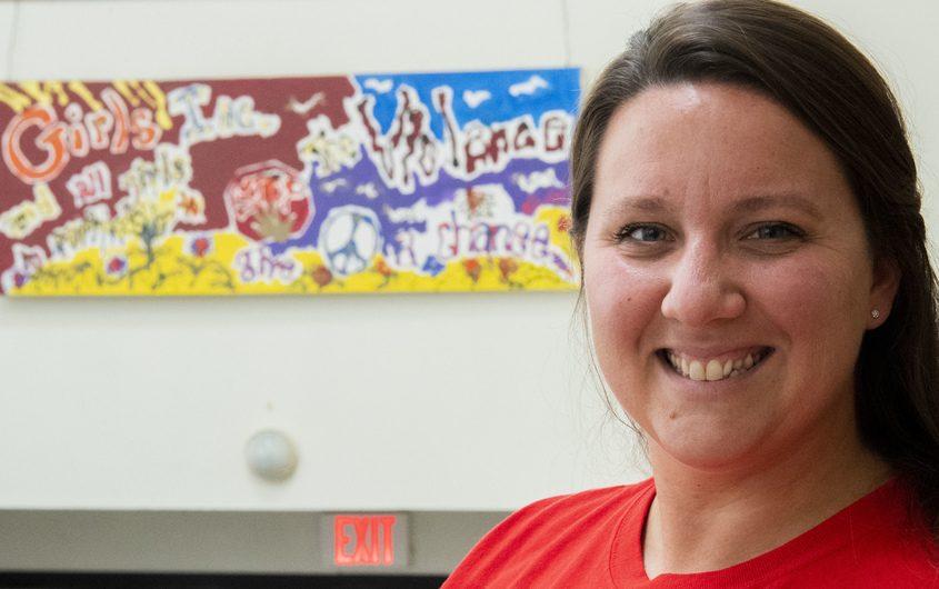 Ashli Frogomeni, Executive Director of Girls, Inc. Schenectady Wednesday