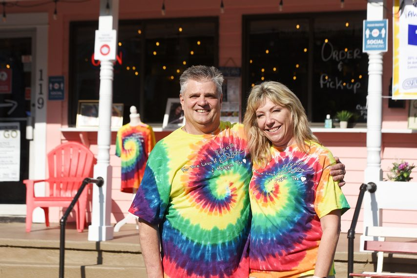 Eddie and Lisa Fazzone will host a fundraiser to benefit the Healing Springs drug abuse recovery center on July 14.