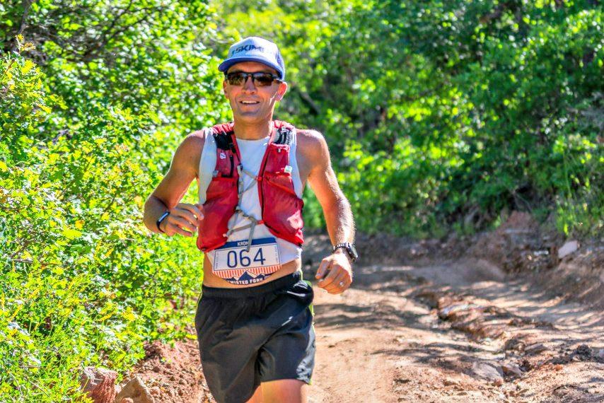 Amsterdam High School graduate Jake Krong recently won a 41.4-mile trail race in Park City, Utah.