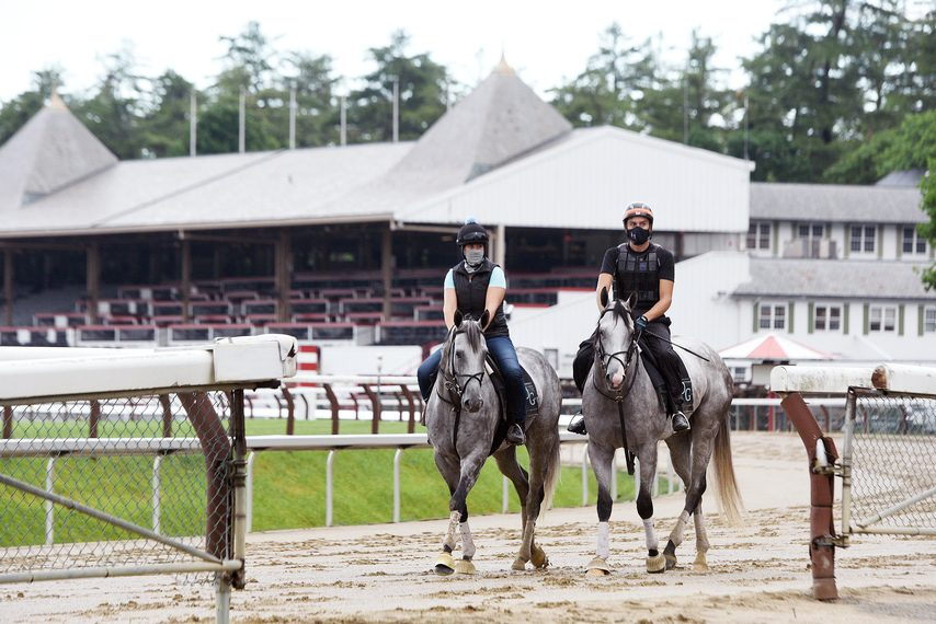 The 152nd Saratoga meet will open on Thursday with no fans in attendance.