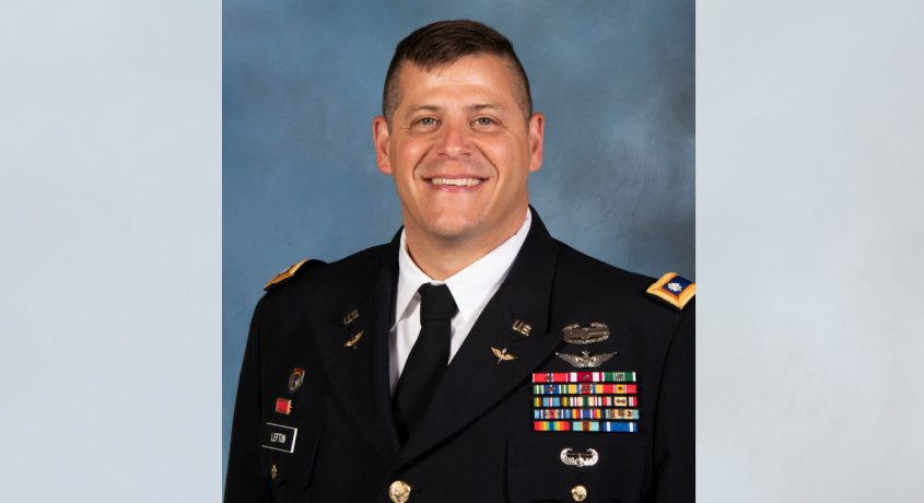 Lt. Col. Jason Lefton.