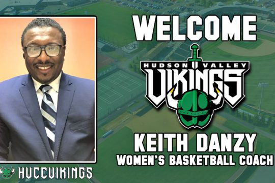 Keith Danzy is the new women's basketball coach at Hudson Valley Community College.