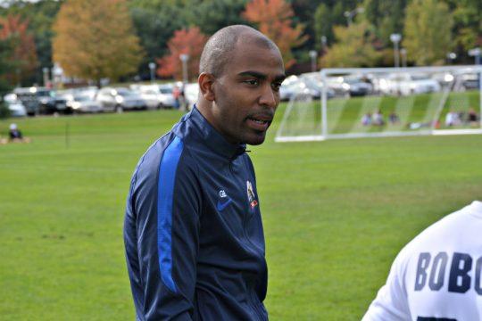 New Siena men's soccer coach Graciano Brito.