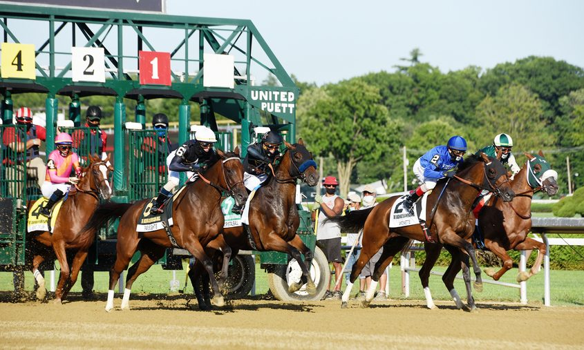 Racing at Saratoga Saturday