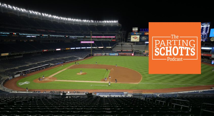 The 2020 MLB season starts Thursday, and there won't be fans allowed in the ballparks due to the coronavirus pandemic.