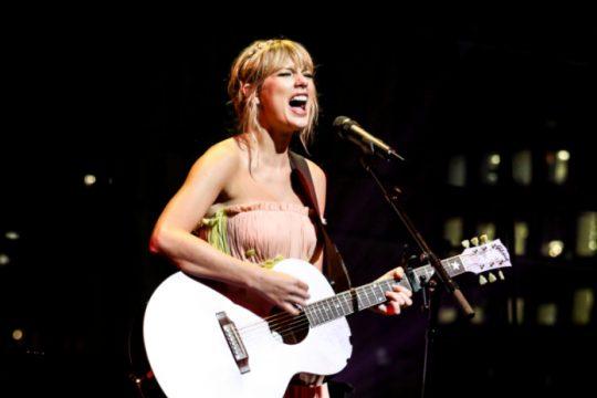 "Taylor Swift's new album ""Folklore"" was released last week."