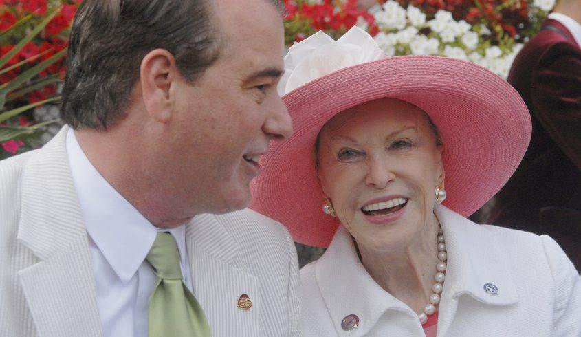 Marylou Whitney and John Hendrickson in the 2015
