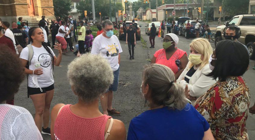 Jamaica Miles clashes with City Council members, Schenectady NAACP