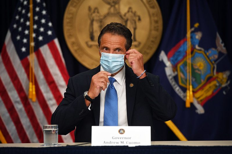 Gov Andrew Cuomo on August 3, 2020.