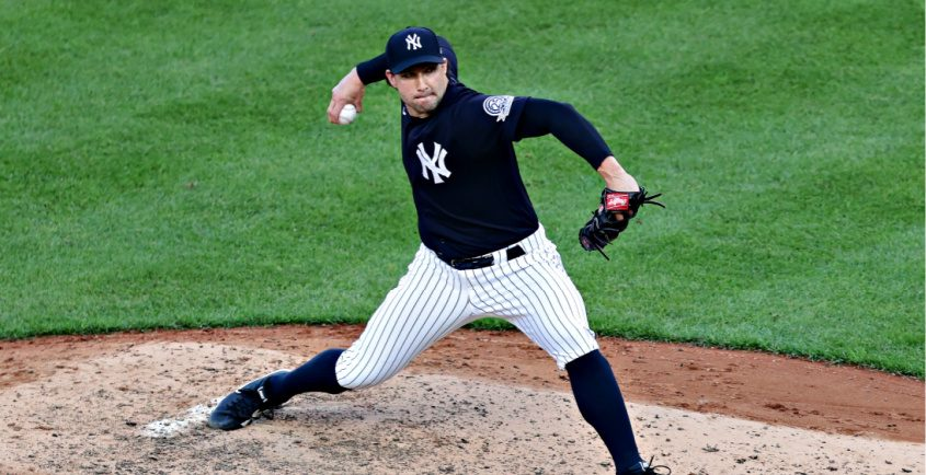 New York Yankees relief pitcher Tommy Kahnle underwent Tommy John surgery earlier this week.