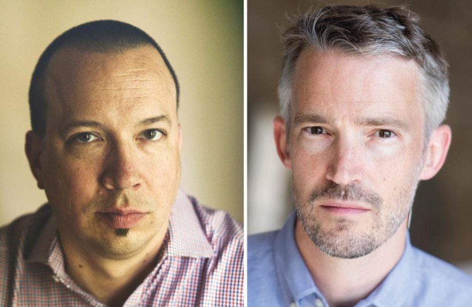 Left: Wall Street Journal reporter Thomas Gryta; Right: Wall Street Journal reporter Ted Mann.