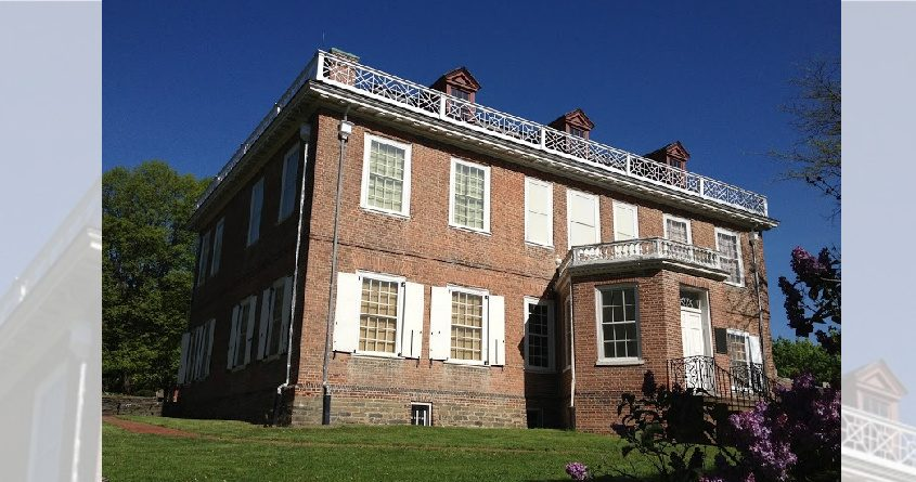 The Schuyler Mansion in Albany.