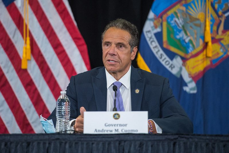 Gov. Andrew Cuomo recently. (Credit: Governor's Office)