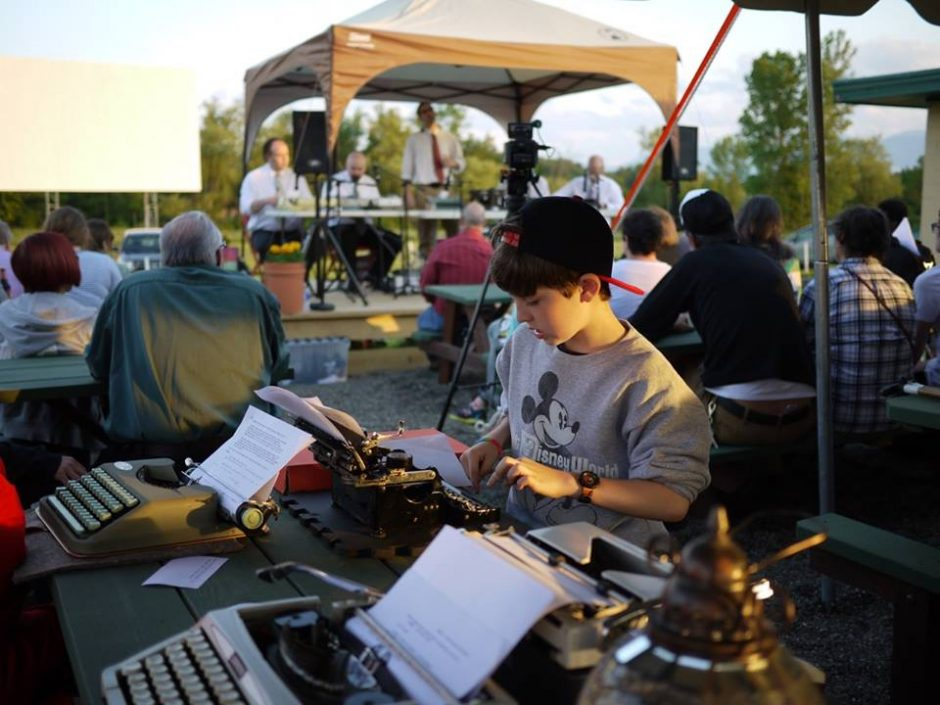 A scenefrom a past QWERTY: Typewriter and Letter Arts Festival in Greenville, about 25 minutes south of Albany.
