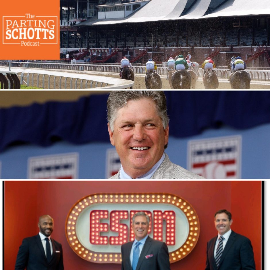 Topics on this edition of 'The Parting Schotts Podcast' are the end of the Saratoga racing season, the Kentucky Derby, the life of Mets legend Tom Seaver and an NFL preview.