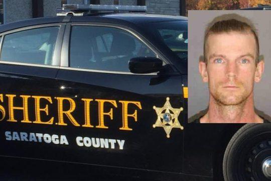 Thomas J. Hunt Credit: Saratoga County Sheriff (inset); File Photo (background)