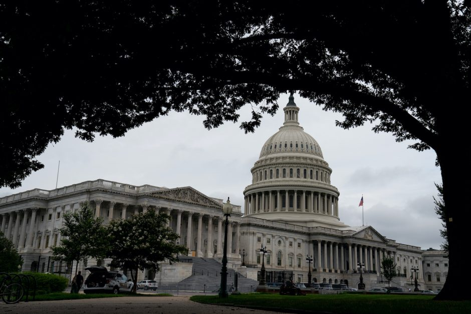 The U.S. Capitol building in Washington on Aug. 22, 2020.