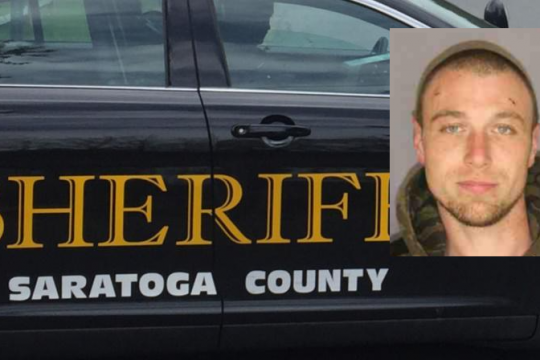 Dean J. Atwell Credit: Saratoga County Sheriff's Office (inset); File photo (Background)
