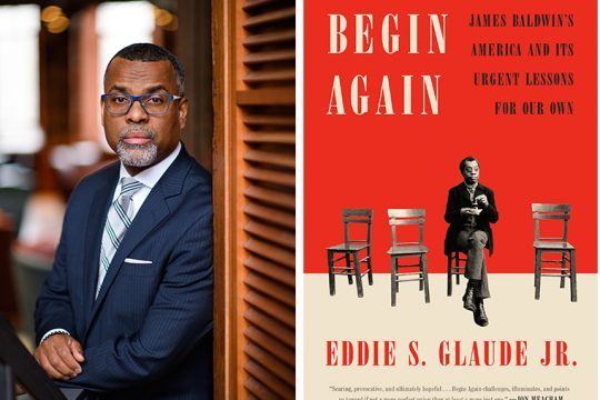 Eddie Glaude Jr. and his book.
