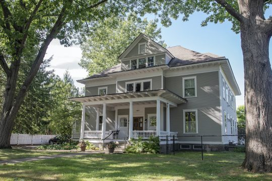 The home of architect John Muse at 21 Madison Ave. in Saratoga Springs was built in 1905.