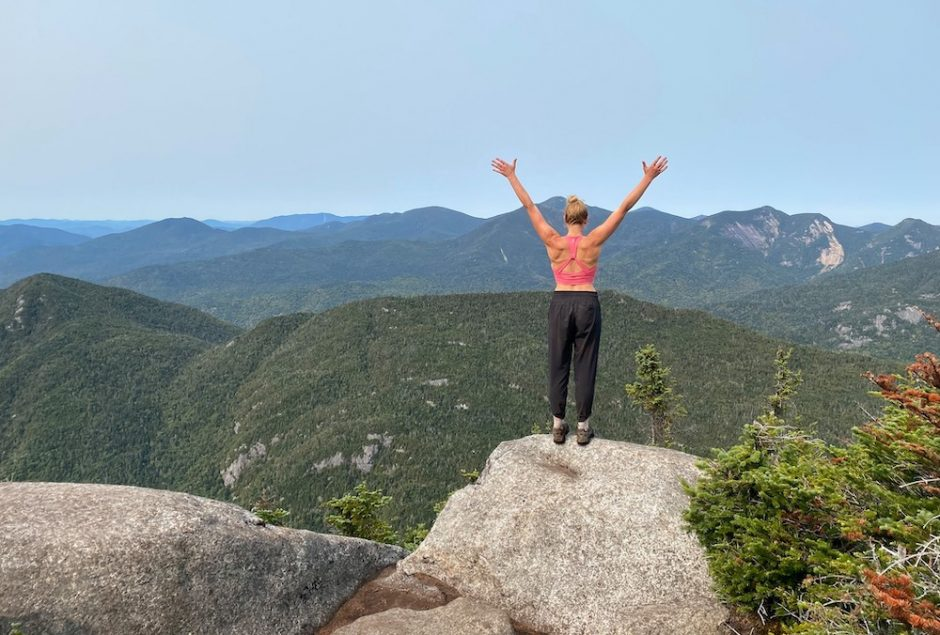 Bethany Garretson soaks it all in on her unsupported thru-hike of the 46 High Peaks.